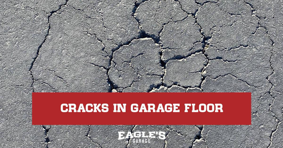 cracks in garage floor