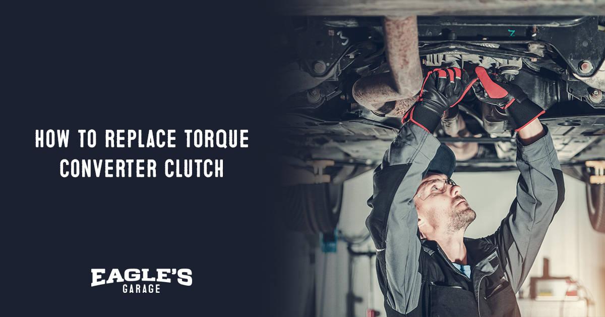 how to replace torque converter clutch solenoid
