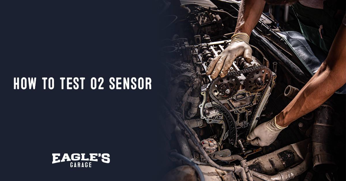 how to test o2 sensor