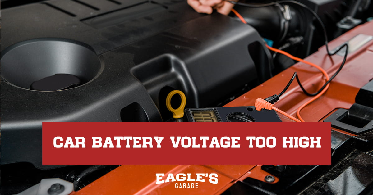 car battery voltage too high