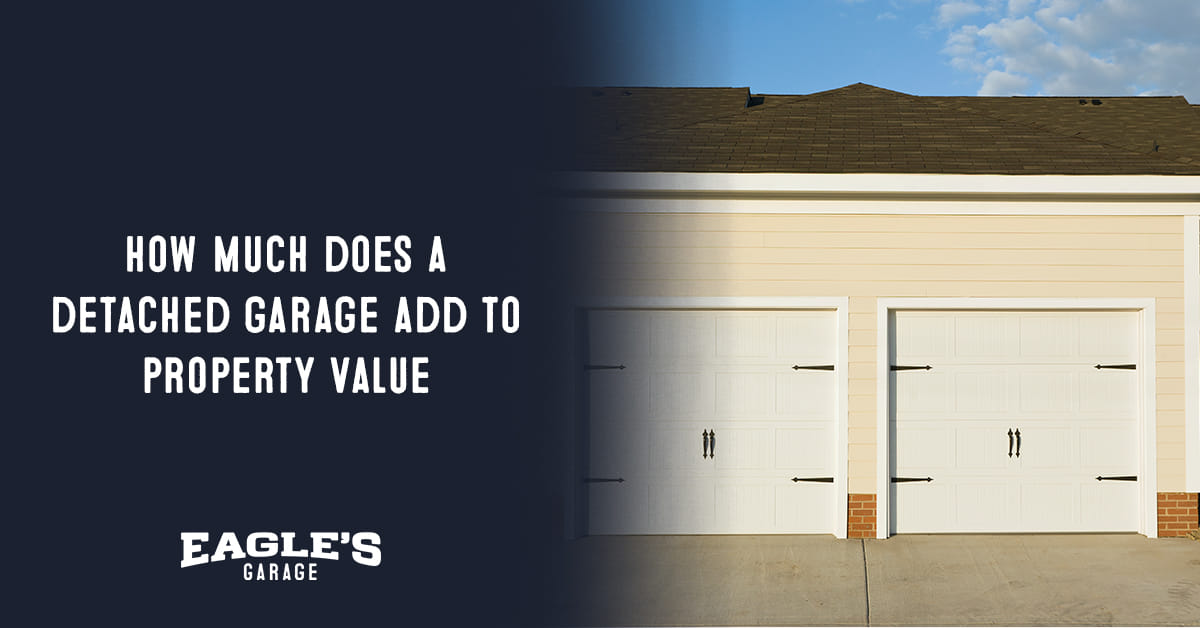 how much does a detached garage add to property value