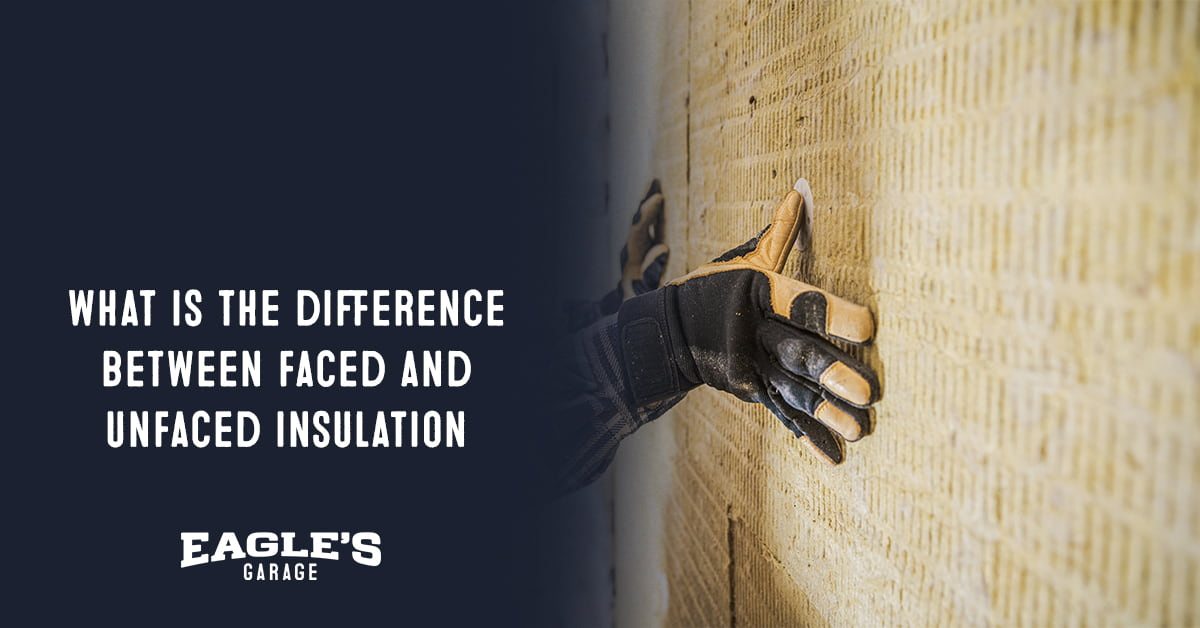 what is the difference between faced and unfaced insulation